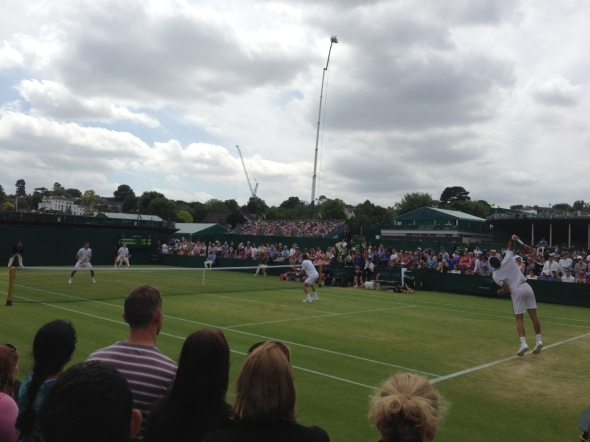 Get close up to the action at the lower courts with a Grounds Admissions pass.